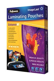 Fellowes Enhance80 A5 80micron Gloss Laminating Pouches (100 Pack)