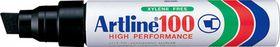 Artline EK100 Industrial Marker Chisel - Black (Box of 6)