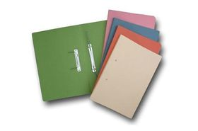 Croxley Accessible File Foolscap - Light Blue (Pack of 20)