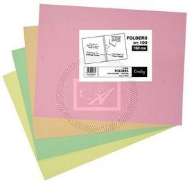 Croxley 160 GSM Tokai Cut Flush 348 x 228 - Green