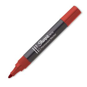 Sharpie M15 Bullet Permanent Marker - Red