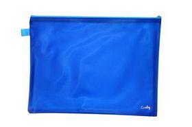 Croxley Bright PVC Neon Book Bag - Blue