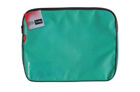 Croxley Canvas Gusset Book Bag - Teal Green