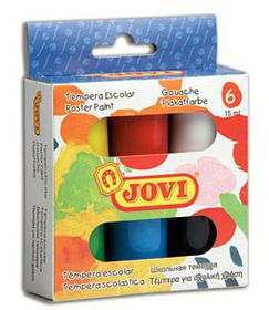 Jovi Poster Paint - 6 Colours