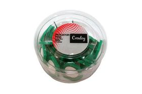Croxley Small Indicator Pins - Green (20's)