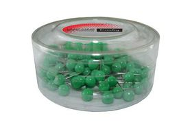 Croxley Map Pins 100's - Green (0.5mm)