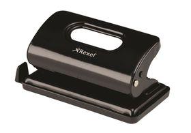 Rexel V210 2 Hole Metal Punch - Black