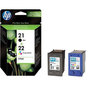 HP 21 / 22 Combo-pack Inkjet Print Cartridges