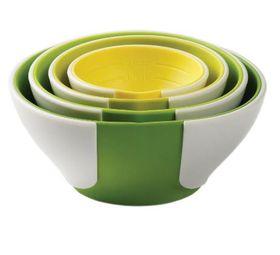 Chef'n Sleekstor Pinch & Pour Prep Bowls - 4 Piece