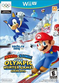 Mario & Sonic at the 2014 Sochi Olympic Winter Games (Wii U)