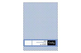 Croxley JD141 40 Sheet A4 Calculation Pad - 5mm Squares (Pack of 10)