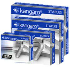 Kangaro Heavy Duty Staples (Box of 1000)