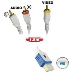Ellies Composite Wii To 3Rca - Male