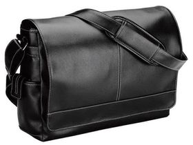 Eco Messenger Bag - Black