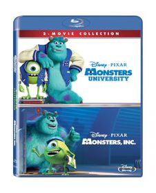 Monsters Box Set: Monsters Inc & Monsters University (Blu-ray)