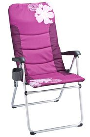 OZtrail - Ladies Kokomo 5 Position Recliner - Pink