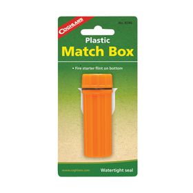 Coghlan's - Plastic Match Box - Orange