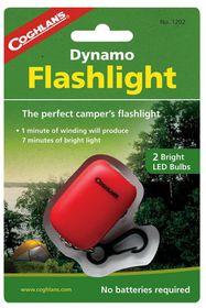 Coghlan's - Dynamo Flashlight - Red