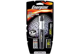 Energizer - PRO123A Hard Case Pro LED Inspection Light - Silver & Black