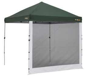 OZtrail - Gazebo Accessory: Compact Mesh Wall Kit for 2.4m X 2.4m - Black Wall Only