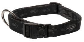 Rogz Large Alpinist K2 Dog Collar - 20mm Black
