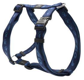 Rogz Alpinist Everest Dog H-Harness Extra Large -25mm Blue
