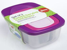 Gizmo - 3 In 1 Rectangular Container Set