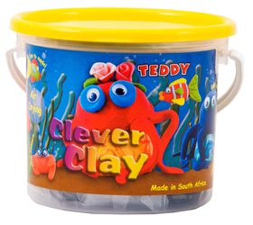 Teddy Clever Clay - 125g Bucket