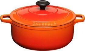 Chasseur - 10 cm Round Casserole - Orange