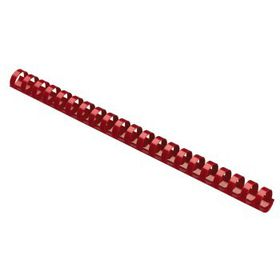 Parrot Plastic Binding Combs - 38mm - Red