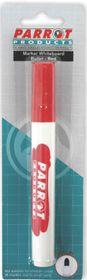 Parrot Whiteboard Marker Bullet Tip - Red (Blister 1)