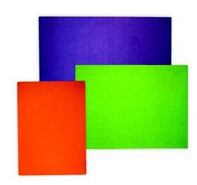 Parrot Pin Board No Frame Felt - Lime Green (600 x 450mm)