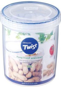 Lock and Lock -k Round Twist Container - 1 L