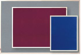 Parrot Info Board Plastic Frame 606mm - Purple