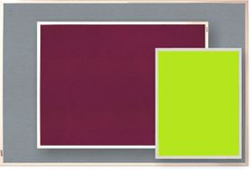 Parrot Info Board Plastic Frame 606mm - Lime Green