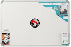 Parrot Whiteboard Magnetic - White 600 x 450mm