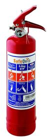 Safe-Quip - 0.6Kg Dcp Fire Extinguisher With Bracket - Red