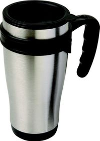 LeisureQuip - 450Ml Travel Mug - Stainless Steel