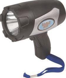Eagle Eye - Rechargeable 5 Watt Spotlight 400 Lumens - Black & Grey