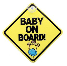 Moto-Quip - Baby On Board Emblem