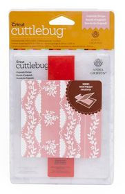 Cuttlebug Anna Griffin Embossing Folder & Border A2 - Organdy Strip