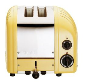 Dualit 2 Slice Classic Toaster - Canary Yellow