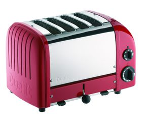 Dualit - 4 Slice Classic Toaster - Red