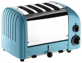 Dualit 4 Slice Classic Toaster - Azure Blue