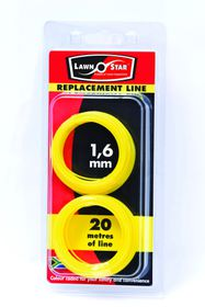 Lawn Star - 1.6 mm x 10m Replacement Coil Line - Double Pre-Pack