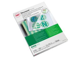GBC Document Gloss Laminating Pouches - A3 150micron (100 Pack)