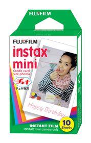 Fujifilm Instax Mini Film Plain Pack of 10