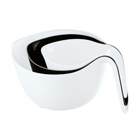 Koziol - Mi x x x Mi xing Bowl Black and White - Set Of 3
