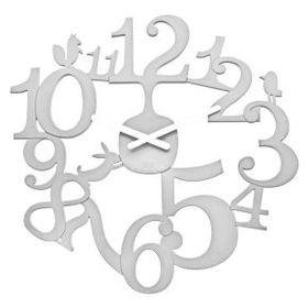 Koziol - Pi:P Wall Clock - White
