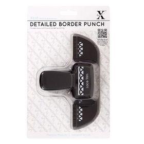 Xcut Decorative Border Punch - Lace Trim